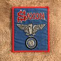 Saxon Vintage Wheels of Steel Patch