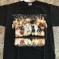 Megadeth 2007 Tour Shirt