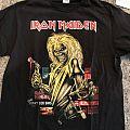 Iron Maiden Book of Souls 2017 Tour Shirt