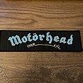 """Motörhead """"Overkill"""" Strip Patch"""