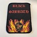 Black Sabbath Printed Patch