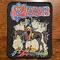 Saxon - Patch - Saxon Printed Patch