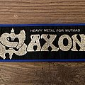 Saxon Strip Patch