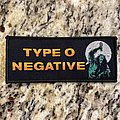 Type O Negative Patch