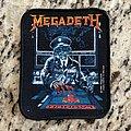 "Megadeth ""Launch"" Patch"