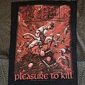 Kreator - Patch - Back patches