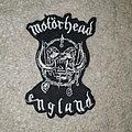 Motörhead - Patch - Motorhead  shaped England patch