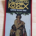 Atlantean Kodex - Patch - Atlantean Kodex - Goddess Rising Demo Patch (Red Border)
