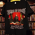 Cradle of Filth Inquisitional Tourture 2015 tour shirt