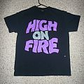 TShirt or Longsleeve - High on Fire-Master of Reality