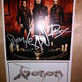 Venom - Autographed Picture Other Collectable