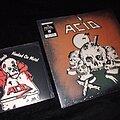 Acid - Tape / Vinyl / CD / Recording etc - Acid - S/T (LP) + Hell On Wheels / Hooked On Metal (Single)