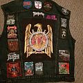 My first concert vest (RIP)