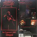 King Diamond: Abigail In Concert 1987 (Longbox)