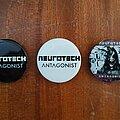 Neurotech - Pin / Badge - NEUROTECH ''Antagonist'' buttons