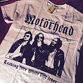 Motörhead Leaving Here/White Line Fever Stiff Records Bootleg Tee TShirt or Longsleeve