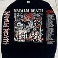 Napalm Death - TShirt or Longsleeve - Napalm death campaign for musical destruction 1992