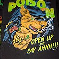Vintage backpatch poison 80s