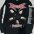 Dismember - TShirt or Longsleeve - Dismember pieces tour 1992