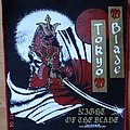 "Tokyo Blade - ""Night Of The Blade"" Backpatch Red Border"