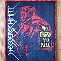 "Messerschmitt - Patch - Messerschmitt - ""No Dread To Kill"" Patch"