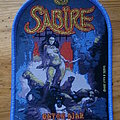 "Sabïre - Patch - Sabïre - ""Gates Ajar"" Patch blue Border Version"