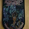 "Sacred Steel - ""Wargods Of Metal"" Shield Patch"