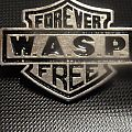"""W.A.S.P. - """"Forever Free"""" Pin Pin / Badge"""