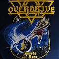 "Overdrive - TShirt or Longsleeve - Overdrive - ""Swords And Axes"" (Blue Shirt)"