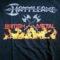 """Battleaxe - TShirt or Longsleeve - Battleaxe """"British Metal"""" Shirt"""