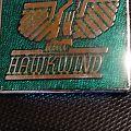 Hawkwind Metal Pin (Green)