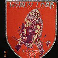 """Heavy Load - Patch - Heavy Load - """"Stronger Than Evil"""" Shield Patch"""