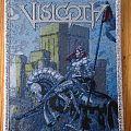 "Visigoth - ""Conqueror's Oath"" Silver Border Patch"