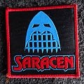"""Saracen - Patch - Saracen - """"Red Sky - Heroes, Saints And Fools"""" Patch"""