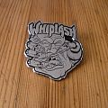 "Whiplash - ""Power And Pain"" Metal Pin"