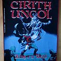 """Cirith Ungol - """"King Of The Dead"""" Backpatch (Red Border)"""
