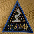 "Def Leppard - ""Hysteria"" Triangle Patch (Blue Border)"