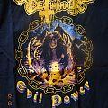 """Deathhammer - """"Evil Power"""" Shirt XL"""