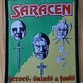 """Saracen - Patch - Saracen - """"Heroes, Saints & Fools"""" Patch"""