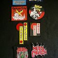 Small Iron Curtain/Gotham City/Tokyo Blade/Metal Church Patches
