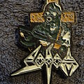 "Sodom - Pin / Badge - Sodom - ""Persecution Mania"" Enamel Pin"
