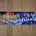 "Manowar - Patch - Manowar - ""Fighting The World"" Shape"