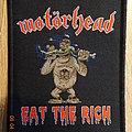 """Motörhead - """"Eat The Rich"""" Patch"""