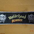 "Motörhead - ""Bomber"" Stripe (silver glitter Version)"