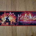 "Manowar - Patch - Manowar - ""The Triumph Of Steel"" Shape"