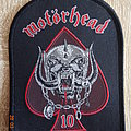 "Motörhead - ""Ace Of Spades + Snaggletooth 10"" Patch"