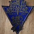 "Impaled Nazarene - Patch - Impaled Nazarene "" Suomi Finnland Perkele"" Triangle Patch"