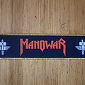 "Manowar - Patch - Manowar - ""Sign Of The Hammer"" Superstripe"