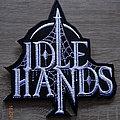 """Idle Hands - """"Logo"""" Shape Patch"""