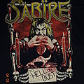 "Sabïre - TShirt or Longsleeve - Sabïre - ""To Hell Or Bust"" Shirt XXL"